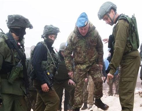 الاحتلال الإسرائيلي يطلب تدخل اليونيفيل لتدمير نفق جديد
