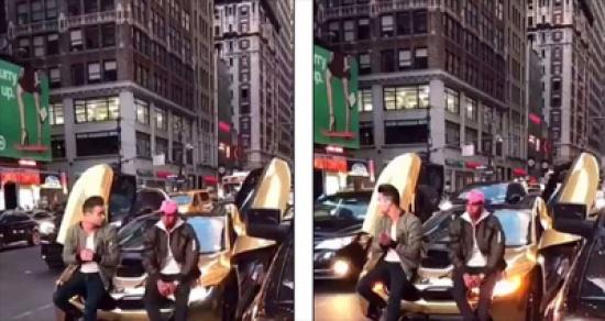 شاهد.. أوقف حركة المرور للاستعراض بسيارته الفارهة.. شاهد نهايته!