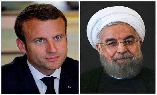 الرئاسة الإيرانية: روحاني وماكرون يبحثان سبل تخفيف التوتر في المنطقة