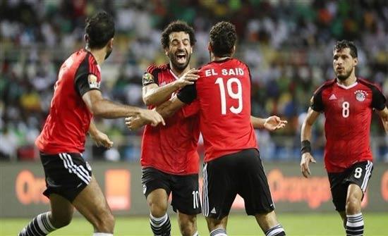 منتخب مصر يستعد لمواجهة البرتغال واليونان