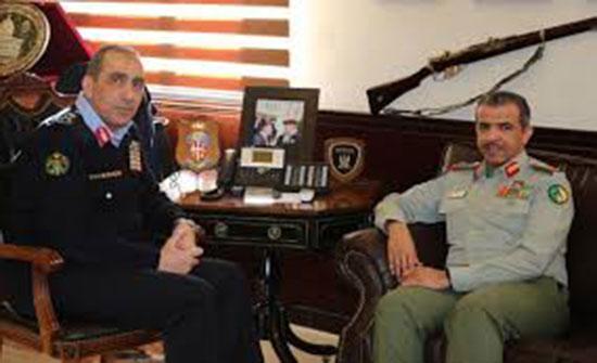 اللواء الحمود يلتقي مسؤولا من الحرس الوطني الكويتي