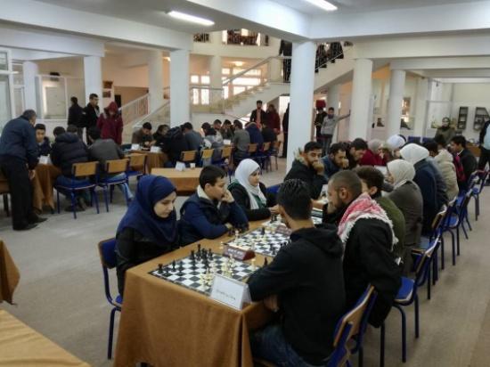 رئيس جامعة إربد الأهلية يرعى بطولة الشطرنج للجامعات