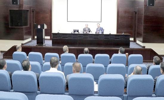 دورة تدريبية في مجلس الأعيان عن التمكين الشخصي