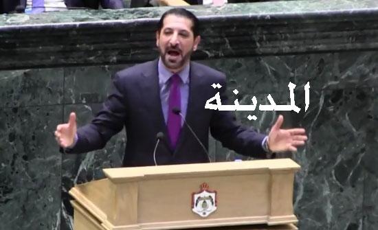 بالفيديو : شاهد كلمة محمد القضاة الساخنة التي هاجم فيها الملقي وفريقه