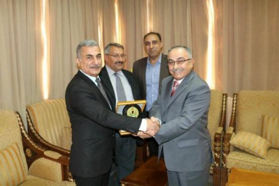 جائزة لأفضل تصميم لشعار مركز الدراسات في جامعة الحسين بن طلال