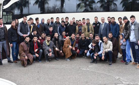 اليرموك تسير رحلة طلابية لأداء مناسك العمرة