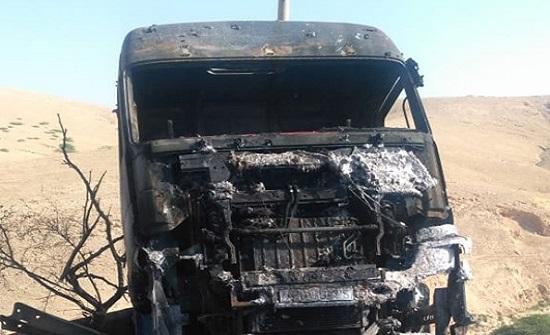 بالصور : إصابة شخصين اثر حادث تدهور في نزول العدسيه