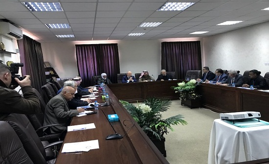 اجتماع المجلس التنفيذي لاتحاد الجامعات العربية في عمان