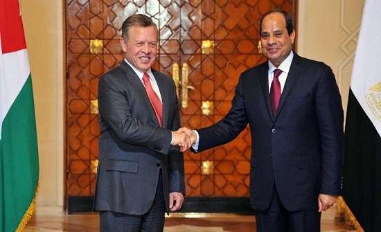 الملك يصل إلى القاهرة