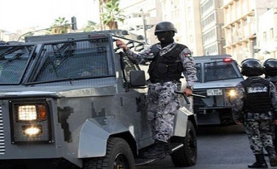 الأمن يفض احتجاج لاصحاب بسطات في إربد