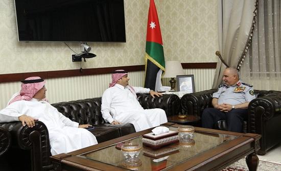 اللواء البزايعه يلتقي رئيس جامعة الأمير نايف العربية للعلوم الأمنية