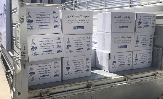 صور : البداد الخيرية تواصل توزيع آلاف الطرود الرمضانية على الفقراء