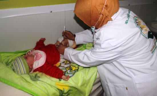 مركز الملك سلمان للإغاثة يقدم العلاج الوقائي لحوالي 5 آلاف لاجئ سوري في مخيم الزعتري