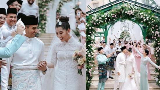 بالفيديو والصور – حفل زفاف خيالي لابنة ملياردير ماليزي!