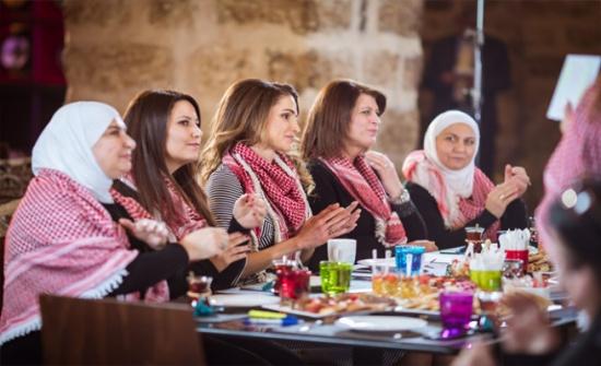 الملكة رانيا تلتقي مجموعة من السيدات الناشطات على مواقع التواصل الاجتماعي