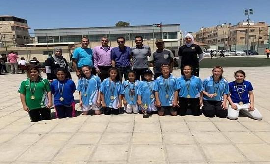 """""""التربية والتعليم والثقافة العسكرية"""" تحصد بطولة الأقاليم لكرة القدم للطالبات"""
