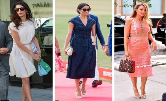 صور : في الحر.. الفساتين هي المفضلة لدي هؤلاء النجمات
