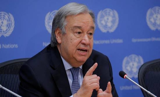 غوتيريس: الأمم المتحدة وموسكو على تفاهم حول مؤتمر سوتشي