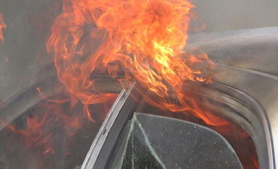 رفض أبوه إعارته سيارته فأحرق المنزل