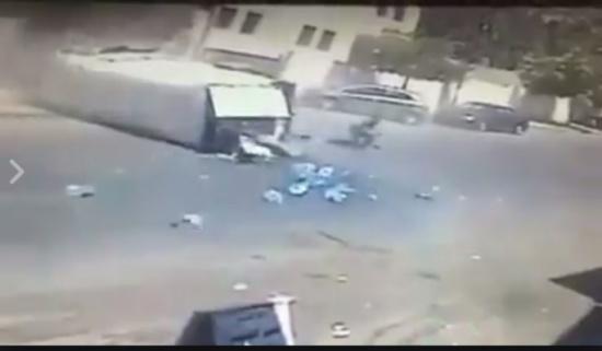 العناية الإلهية تنقذ مواطناً من موت محقق في عمان.. (شاهد)
