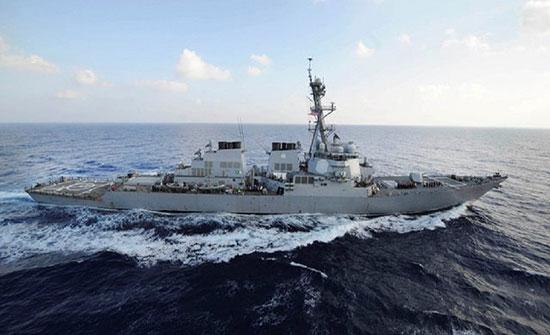 مدمرة أمريكية مزودة بأسلحة صاروخية تتوجه إلى البحر الأسود