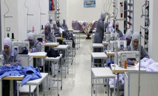 افتتاح مشغل لتدريب الخياطة بالمزار الشمالي