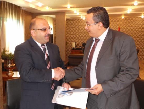 مذكرة تفاهم بين الجامعة الألمانية الأردنية و سوق الأوراق المالية الليبي