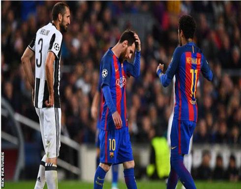 بالصور: يوفنتوس يحبط محاولات برشلونة ويتأهل لنصف النهائي