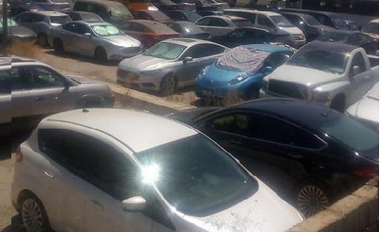 ضبط ٤٥ شخصا بحوزتهم ٤٠ سلاحا ناريا وحجز مركبات خلال الحملة على مخالفات التوجيهي