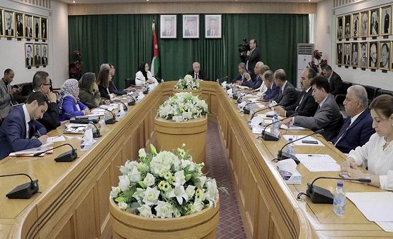 الأخوة الأردنية المغربية في الأعيان تلتقي وفدًا برلمانيًا مغربيًا