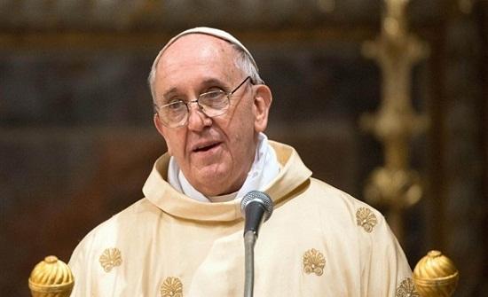 البابا يشيد بالأردن في استقبال اللاجئين