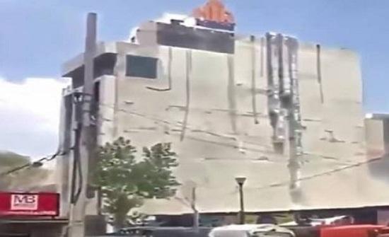 بالفيديو: سيدة محظوظة.. نجت مرتين من الموت خلال زلزال المكسيك