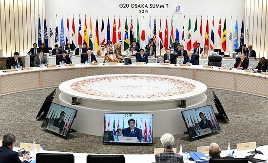 البيان الختامي لقمة مجموعة العشرين في اليابان