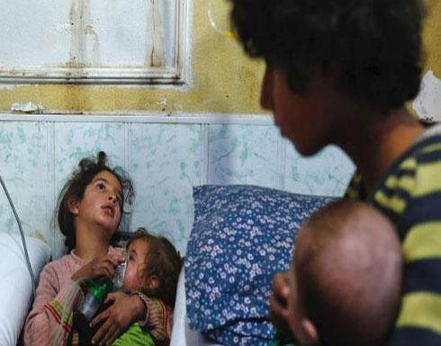 النظام السوري يقصف دوما بغاز الكلور ويحاول اقتحام عربين