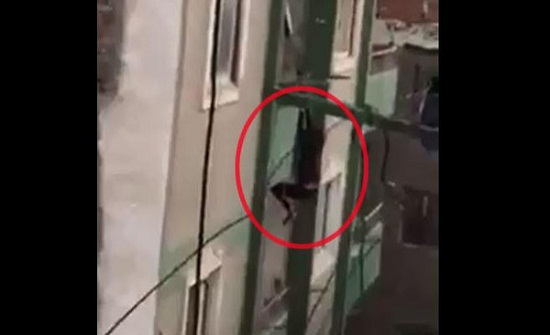 فيديو مأساوي.. إثيوبية تسقط من الطابق السابع في القاهرة.. من المسؤول!