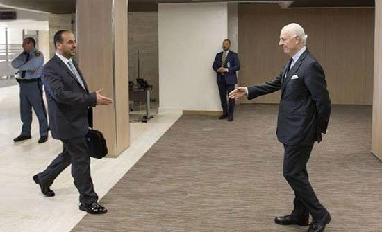هيئة التفاوض تنوي بحث اللجنة الدستورية مع دي ميستورا