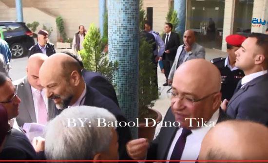 فيديو : شاهد كولسات الرزاز والوزراء مع النواب