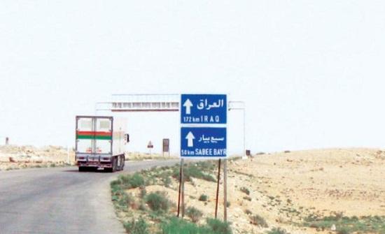 10 ملايين صادرات الأردن عبر طريبيل بعشرين يوما