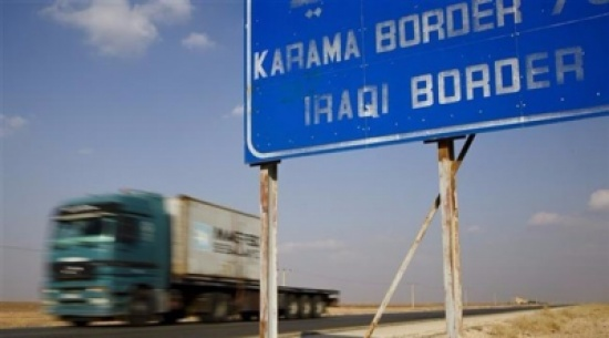 نشر دوريات عسكرية اميركية على طريق العراق - الاردن