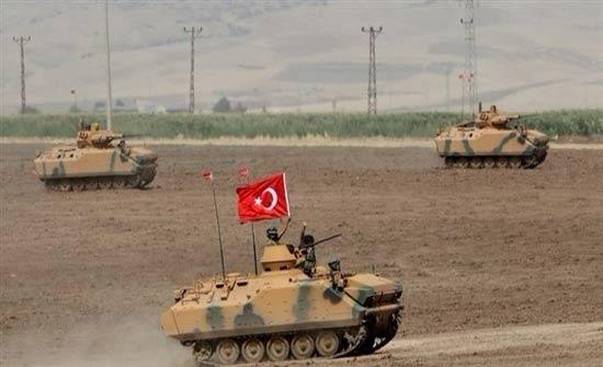 الجيش التركي يستعد للتدخل في منطقة عفرين شمالي سوريا