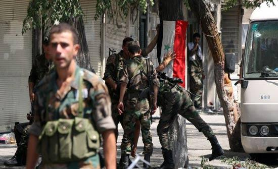 قتلى وجرحى بانفجار مستودع أسلحة لقوات النظام في اللاذقية