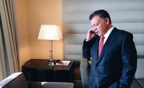 الملك يؤكد خلال اتصال هاتفي مع ابن زايد وقوف الأردن مع الإمارات