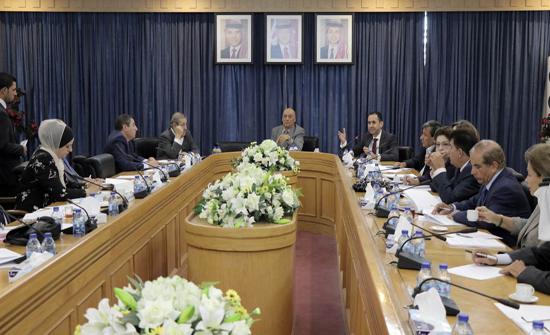 مناقشة النظام المعدل للنظام الداخلي لمجلس الاعيان لسنة 2018