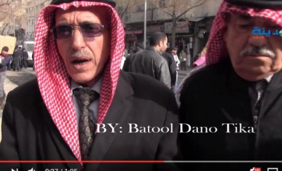 بالفيديو : شاهد مختار الوحدات ماذا يقول عن أحداث الكرك