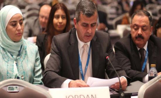 الخرابشة يعرض تجربة الأردن بمجال مشاريع الطاقة المتجددة