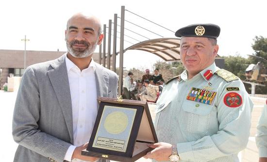 تكريم ذوي شهداء معركة الكرامة في صرح الشهيد عمان