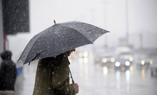كميات الامطار خلال الـ 24 ساعة الماضية وحتى صباح الجمعة