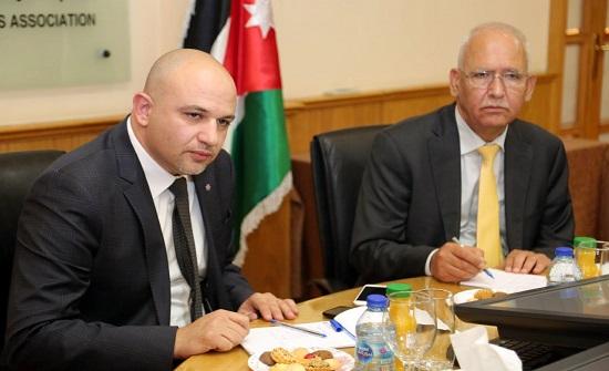 """الوزير الغرايبة: """" نسعى لتحويل الأردن من مصدر خبرات إلى مصدر خدمات"""""""