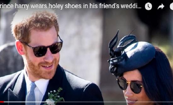 بالفيديو - فضيحة الأمير هاري برفقة ميغان ماركل تصدم البريطانيين... وثقب محرج في الملابس