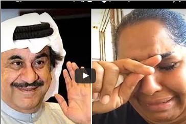 بالفيديو .. بكاء هيا الشعيبي على رحيل الممثل عبدالحسين عبدالرضا